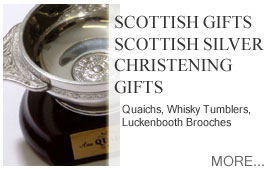 Scottish Gifts Silver Christening Gifts Quaiches Collectibles Heirloom Gifts Luckenbooths