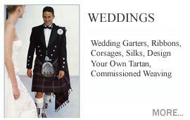 Weddings and Celebrations Handfastings ribbons Scottish.